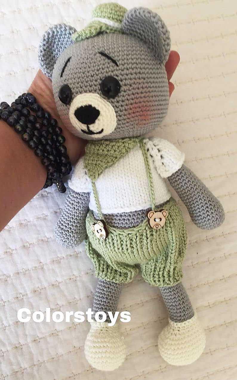 Amigurumi teddy bear brothers in sweaters - Amigurumi Today ... | 1268x794