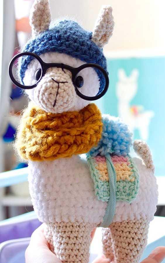 Leon le lama patron au Crochet, instructions pas à pas | 899x564