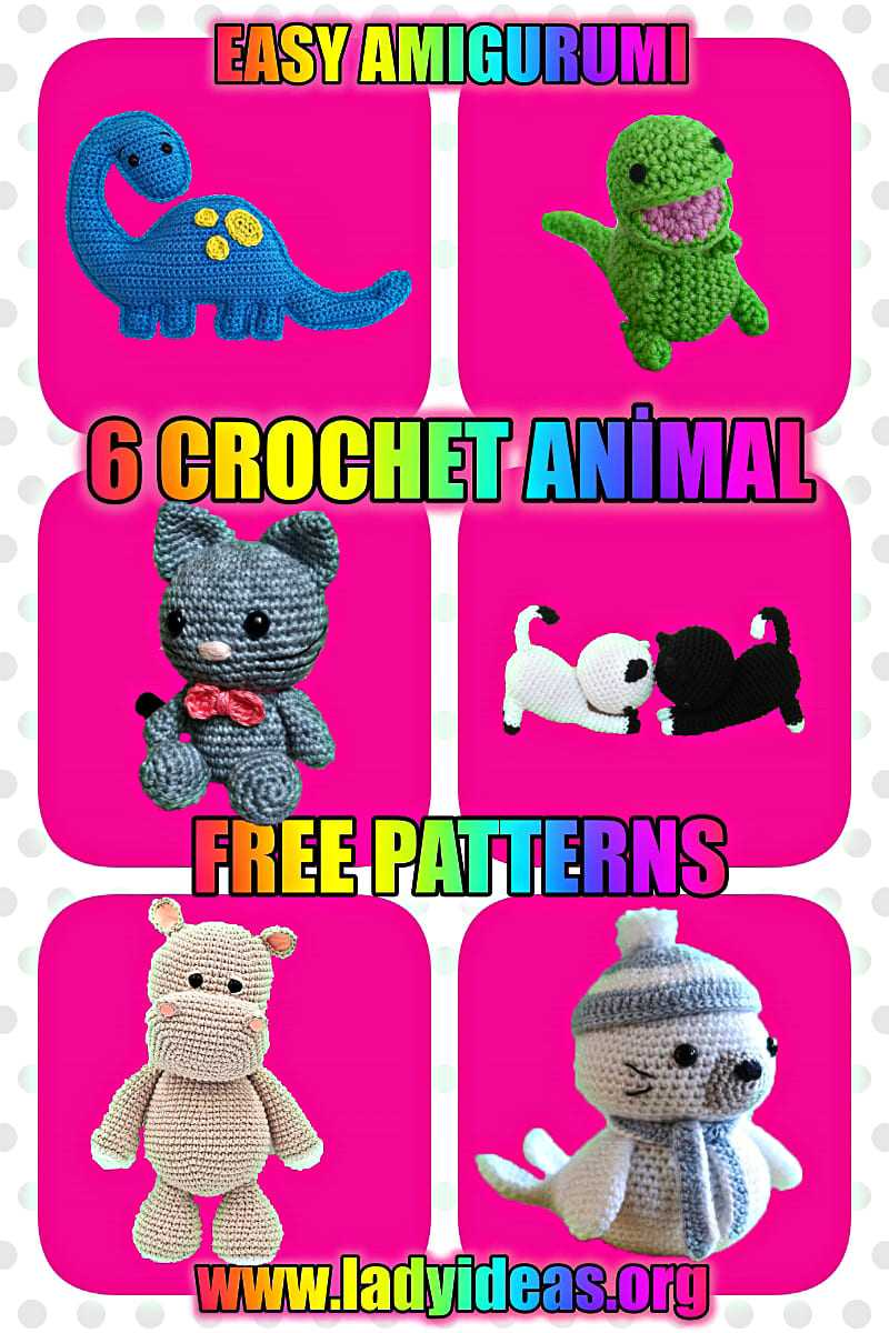 amigurumi easy free pattern for beginners